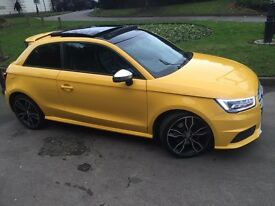 AUDI S1 2.0 TFSI QUATTRO 2015 FULLY LOADED EVERY EXTRA PAN ROOF SUPERSPORT SEATS + MORE