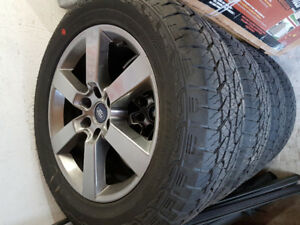 """20"""" F150 Wheels and tires"""