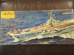 1/400 Heller Foch aircraft carrier model kit