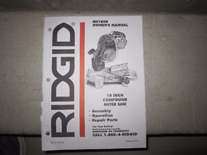 Mitre saw by  Rigid Kitchener / Waterloo Kitchener Area image 5