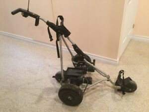 Powered Golf Caddy X2 with battery