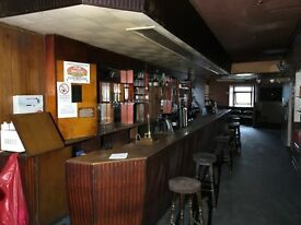 Bar in Fraserburgh for lease