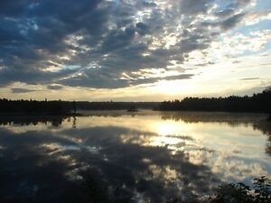27-ACRE WATERFRONT LOT ON SALMON RIVER, SOUTH OF CHIPMAN, NB