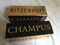 CHAMPUS champagne glasses X 2