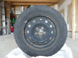 FIRESTONE Winter Tires w/Rims