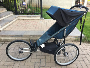 "Stroller Baby Jogger Performance Series Single 20"" -with Extras!"