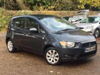 2009 Mitsubishi Colt 1.3 Clear Tec 5 Door Grey only 52,803 Miles FSH SUPERB!!!!