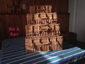 Various Wicker Baskets & Cases #1