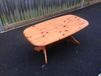 Pine coffee table, ideal shabby chic project, free local delivery