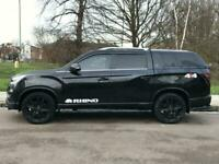 2018 Ssangyong Musso 2.2d Rhino Double Cab Pickup Auto 4WD EU6 4dr Pickup Diesel