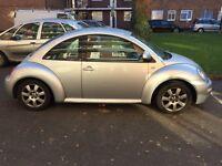 Volkswagen Beetle 2.0 petrol + MOT+ drives excellent
