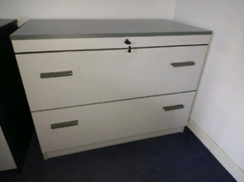 Heavy duty file cabinet or storage unit with keys