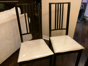 Dinning room chairs 6pcs