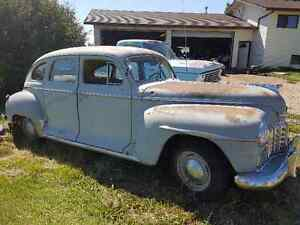 48 Dodge Special Delux D25 Suicide doors Runs and drives