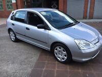 Honda Civic Auto automatic 2003 03+ 90k fsh 1 PREVIOUS OWNER AUTO AUTOMATIC