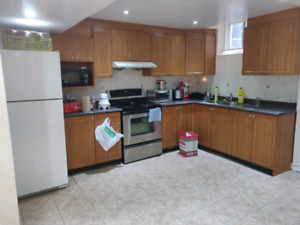 One Bedroom Basement Apartment One year Rental