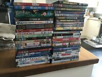 Stack of DVDs (50)