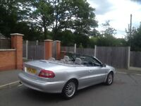 2OO5 VOLVO C70 GT TURBO CONVERTIBLE LOW MILEAGE