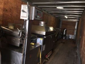 Complete  Tortilla production line Very good condition, removed