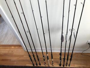 Canne a peche fishing rod Daiwa Fenwick St Croix Quantum