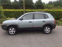 2008 Hyundai Tucson turbo diesel full years mot today cheap 4 x4