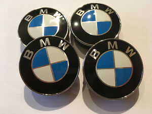 New BMW Centre Caps 60mm 55mm  >  Never Used Brand NEW