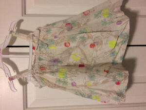 Very excellent condition Baby Gap dress with diaper cover