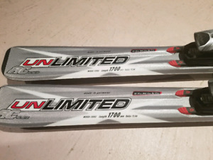 Volkl AC Unlimited 170 cm all mountain skis