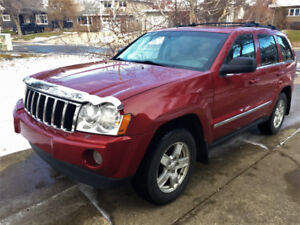 2006 Jeep Grand Cherokee Limited - ready for winter