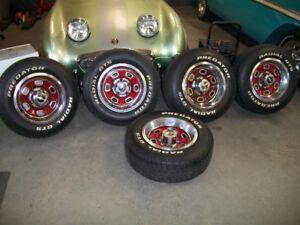 5 roues classic de chevrolet, 5 chevrolet classic wheels