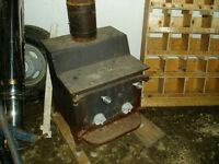 Antique Fisher Wood Stove