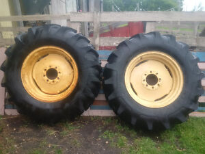14.9 - 26 Tractor or Combine Tires Like New condition
