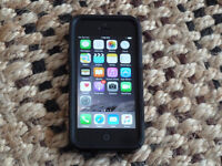Unlocked iphone 5 16GB with Otter Case