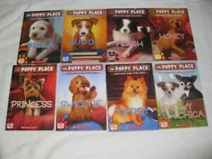 THE PUPPY PLACE - CHAPTERBOOKS - GREAT SELECTION - CHECK IT OUT!