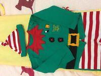Christmas/Xmas outfit - elf/santa's helper.