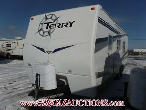 2007 FLEETWOOD TERRY 270FQ  TRAILER