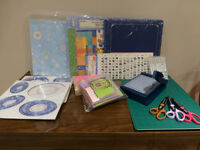 Scrapbooking Kit #1 - Assorted tools, supplies, everything!
