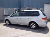2003 Honda Odyssey Toute équipés Familiale