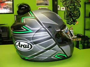 ARAI - Vector 2 - Hawk Green Matte - Large at RE-GEAR