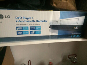 DVD and VCR Combo  hardly used