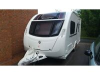 2012 Swift Challenger Hi Style 442 with Motormover and Solar Panel 2 berth
