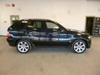 2006 BMW X5 4.8iS BLACK ON BLACK NAVI! MINT! RARE! ONLY $14,500!