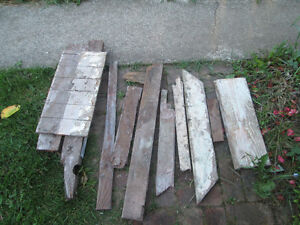 FREE wood from the demolition of the Harewood School