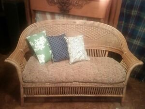 Wicker Furniture Set of 6 for your Cottage :)