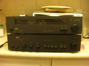NAD Stereo Amplifier and Stereo Tuner