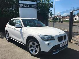 2010 BMW X1 2.0TD xDrive18d SE(FULL LEATHER,GOOD HISTORY,WARRANTY)