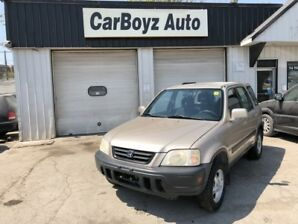 1999 Honda CR-V 4WD EX Auto **CLEAN TITLE** SAFETY CERTIFIED