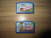 """FRENCH LEAPSTER """"DORA THE EXPLORER"""" GAMES - $6.00 EACH"""