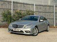 2010 Mercedes-Benz E-CLASS 3.0 E350 CDI BLUEEFFICIENCY SPORT 2d 231 BHP Coupe Di