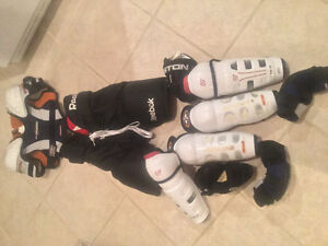Used, No Stench Junior Sized Hockey Equipment